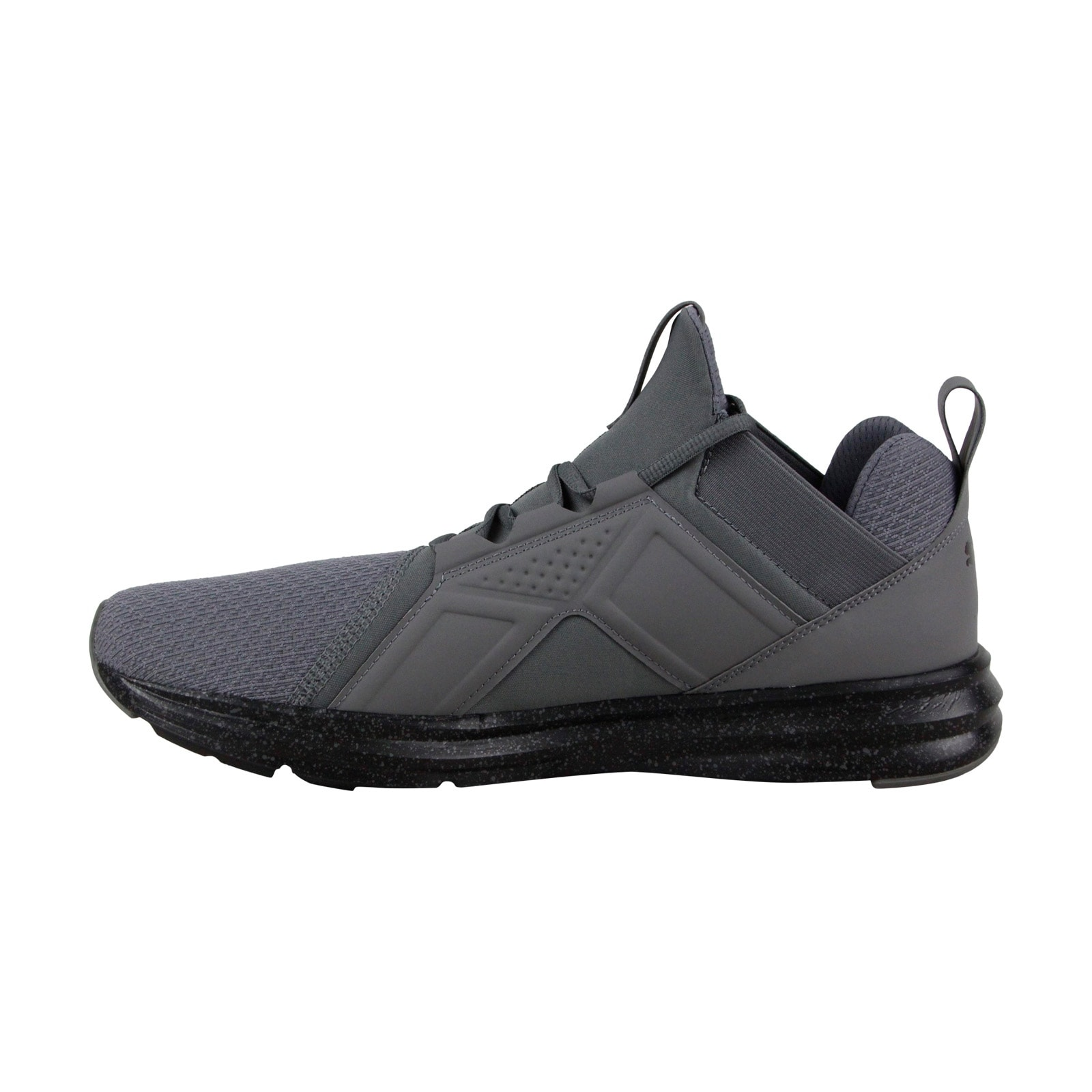 11c82473aa76 Shop Puma Enzo Speckle Mens Gray Textile Athletic Lace Up Running Shoes -  Free Shipping Today - Overstock - 25364972