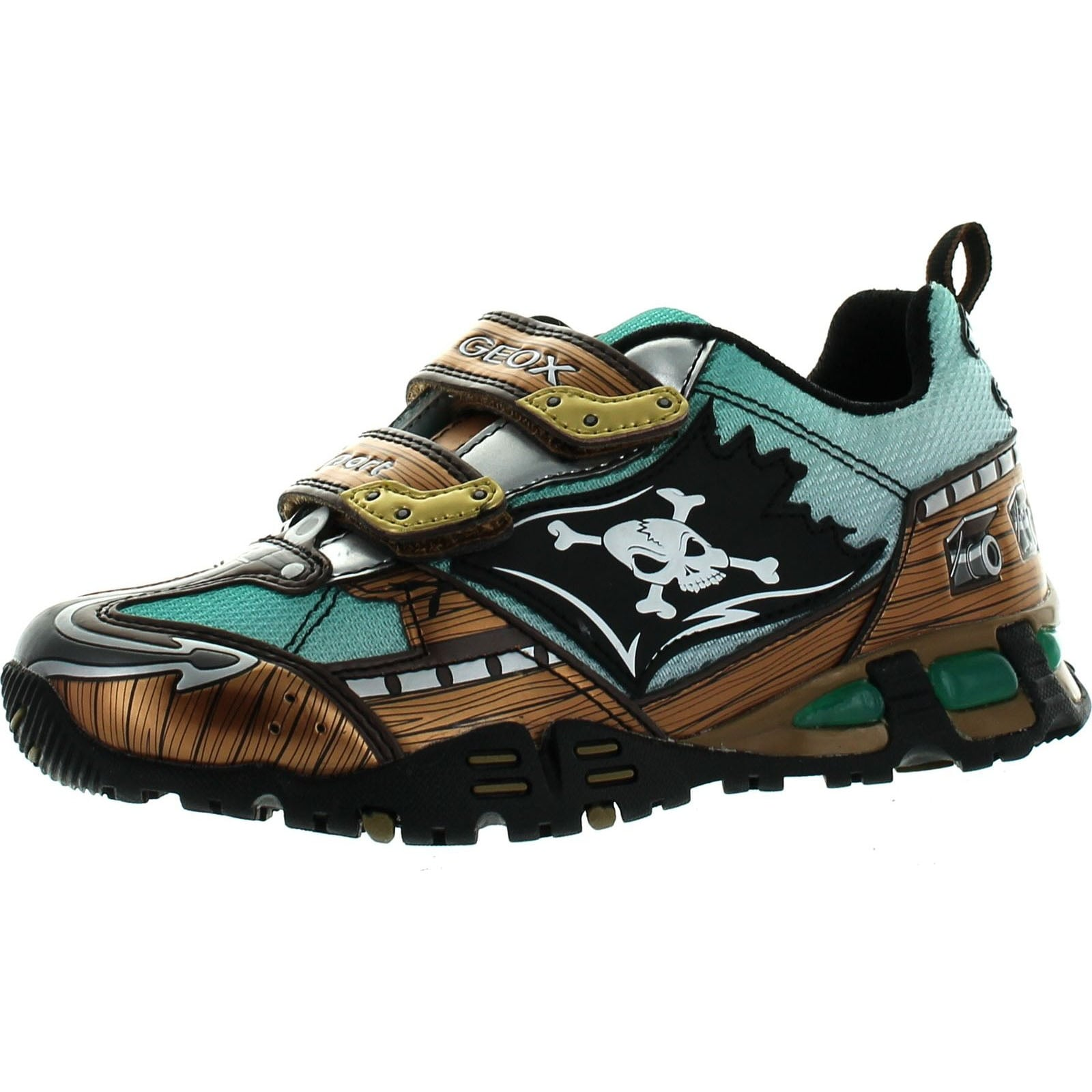 Geox Boys Lt Eclipse Kids Light Up Fashion Sneakers Free Shipping