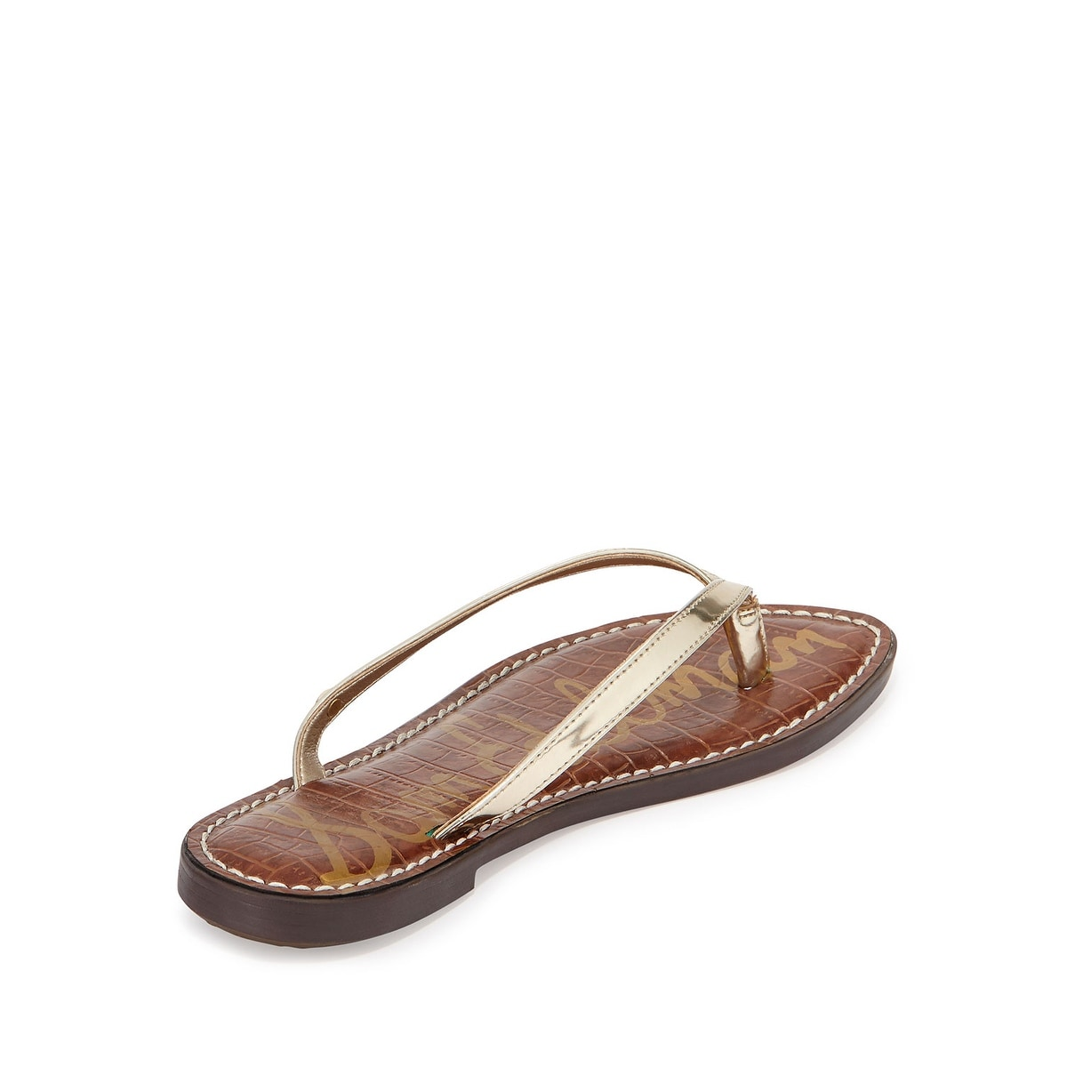 7e6d3fc5b Shop Sam Edelman Women's Gracie Thong Sandal - Free Shipping On Orders Over  $45 - Overstock - 14793503