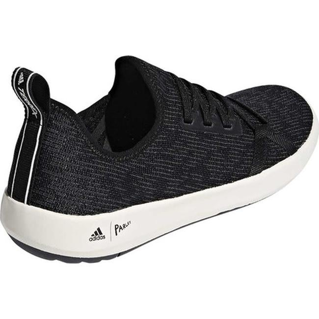 23f3c7be49e Shop adidas Men s Terrex Climacool Boat Parley Sneaker Black Carbon Chalk  White - Free Shipping Today - Overstock.com - 20223517
