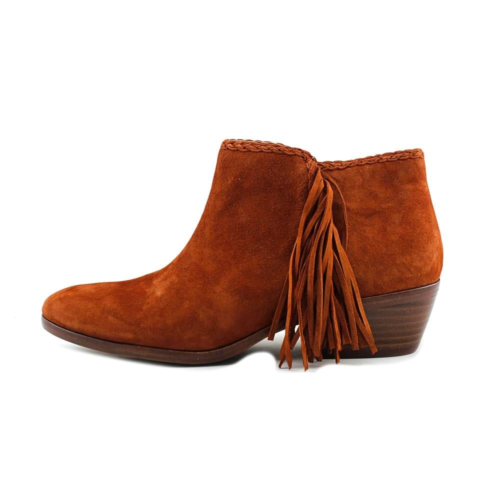 8e2f2ab481dcd5 Shop Sam Edelman Paige Women Round Toe Suede Brown Bootie - Free Shipping  On Orders Over  45 - Overstock - 18519784