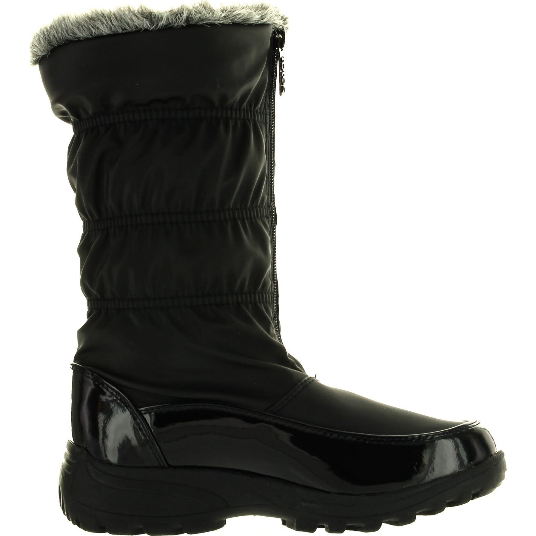 Shop Totes Damenschuhe Rachel Winter Waterproof schwarz Snow Stiefel schwarz Waterproof Free ... f7fb56