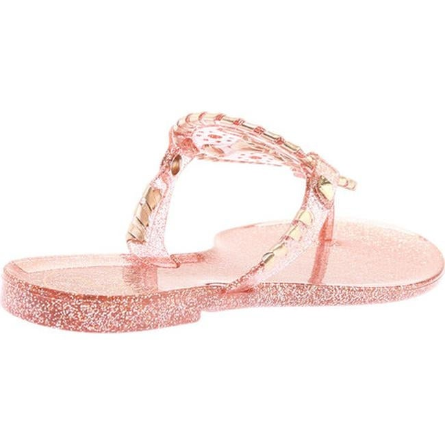 8e3eb5bdeca Shop Jack Rogers Women s Georgica Jelly Rose Gold Sparkle - Free Shipping  On Orders Over  45 - Overstock - 22853197