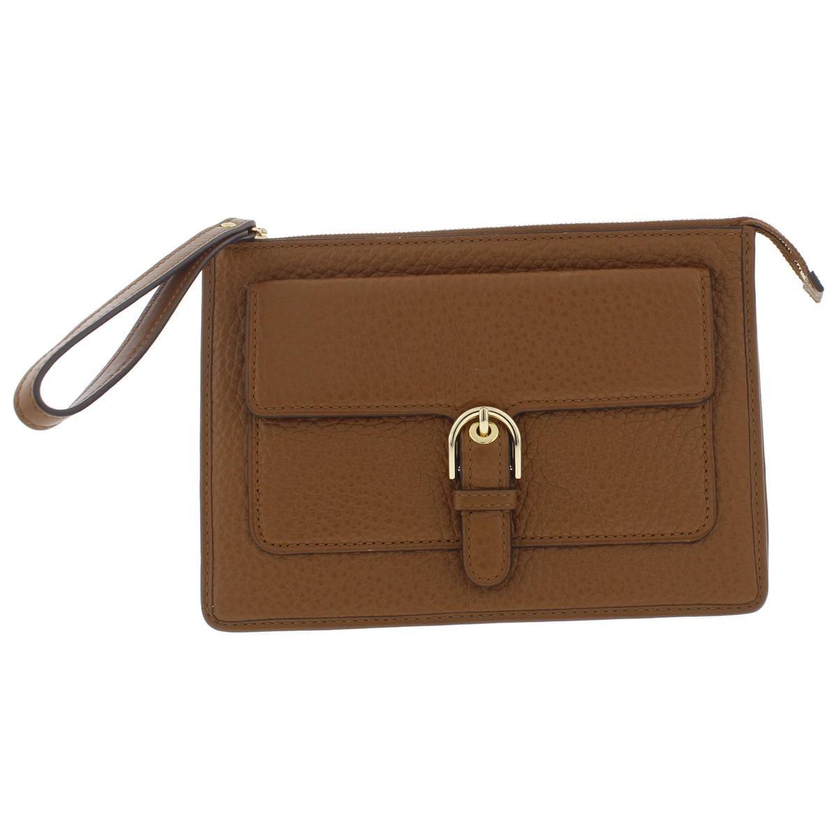 859c088a47d792 Shop MICHAEL Michael Kors Womens Cooper Wristlet Handbag Leather Pebbled -  MEDIUM - Free Shipping Today - Overstock - 19822091