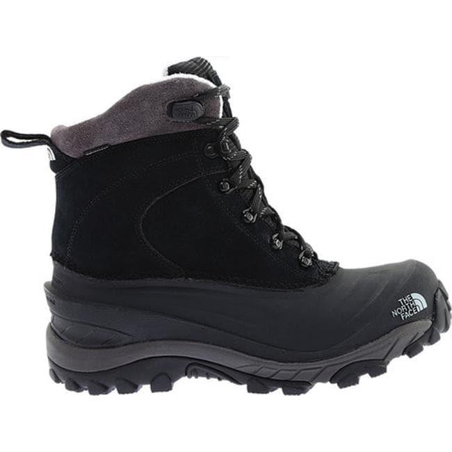 21e31febe The North Face Men's Chilkat III Snow Boot TNF Black/Dark Gull Grey