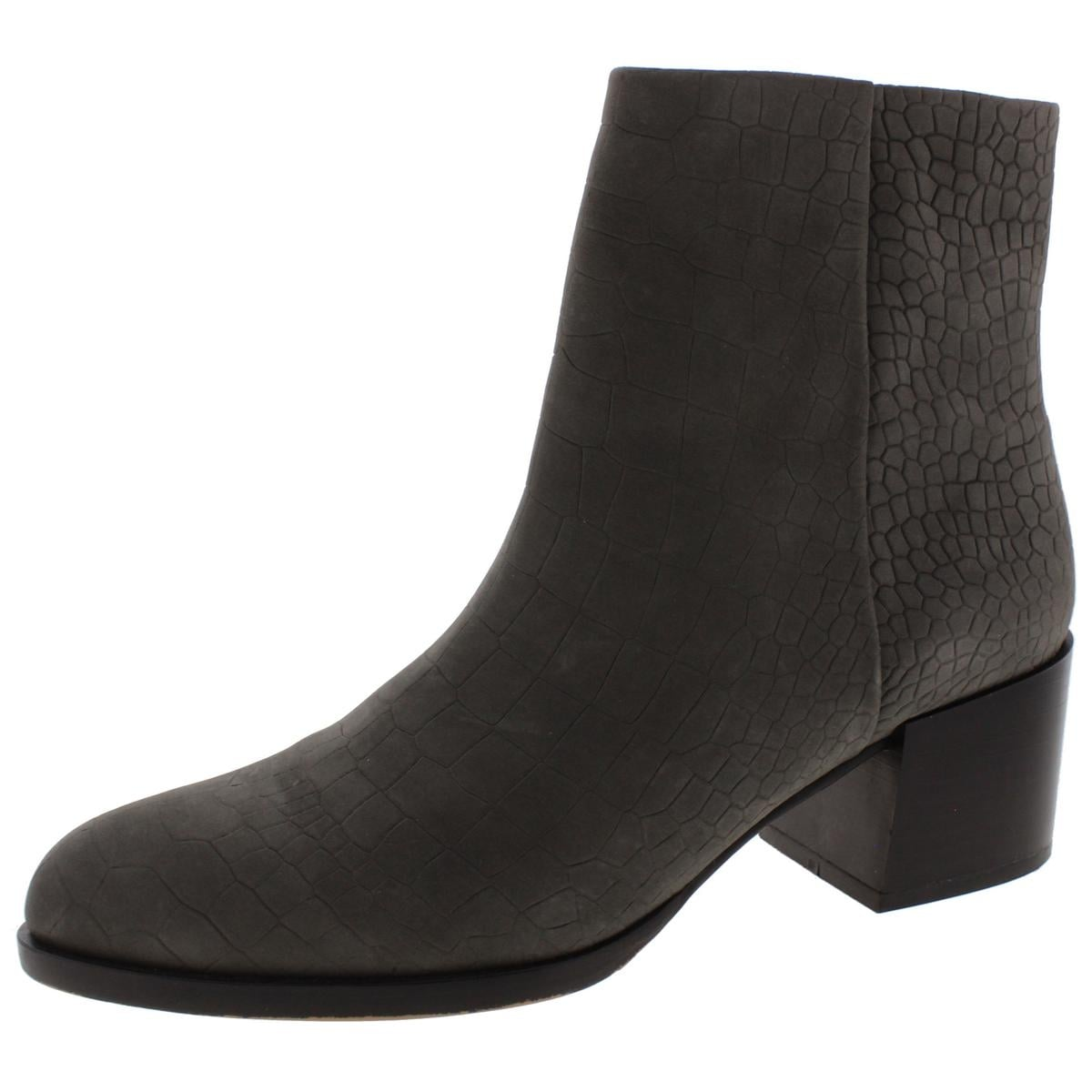 611dc13aebfa42 Shop Sam Edelman Womens Joey Ankle Boots Leather Stacked Heel - Free  Shipping Today - Overstock - 13147831