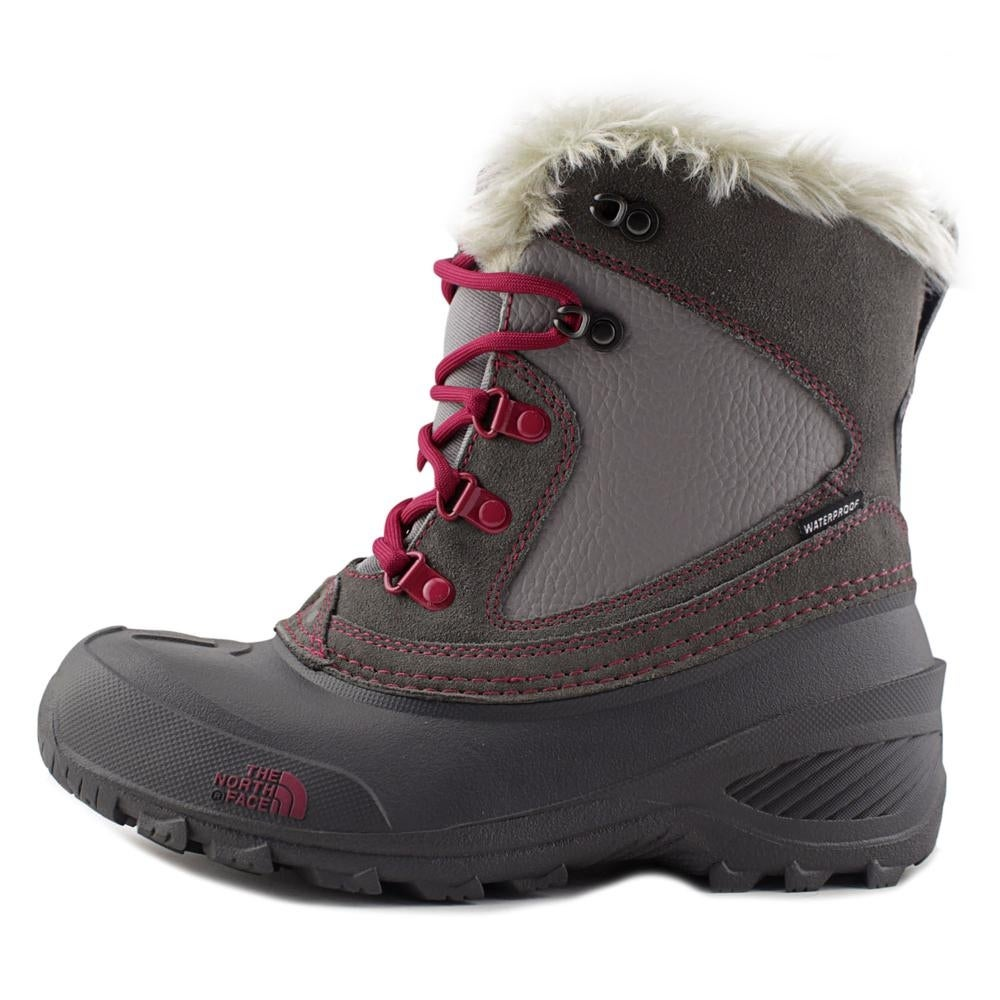 aa9a8b0a6 The North Face Youth Shellista Extreme Round Toe Leather Snow Boot