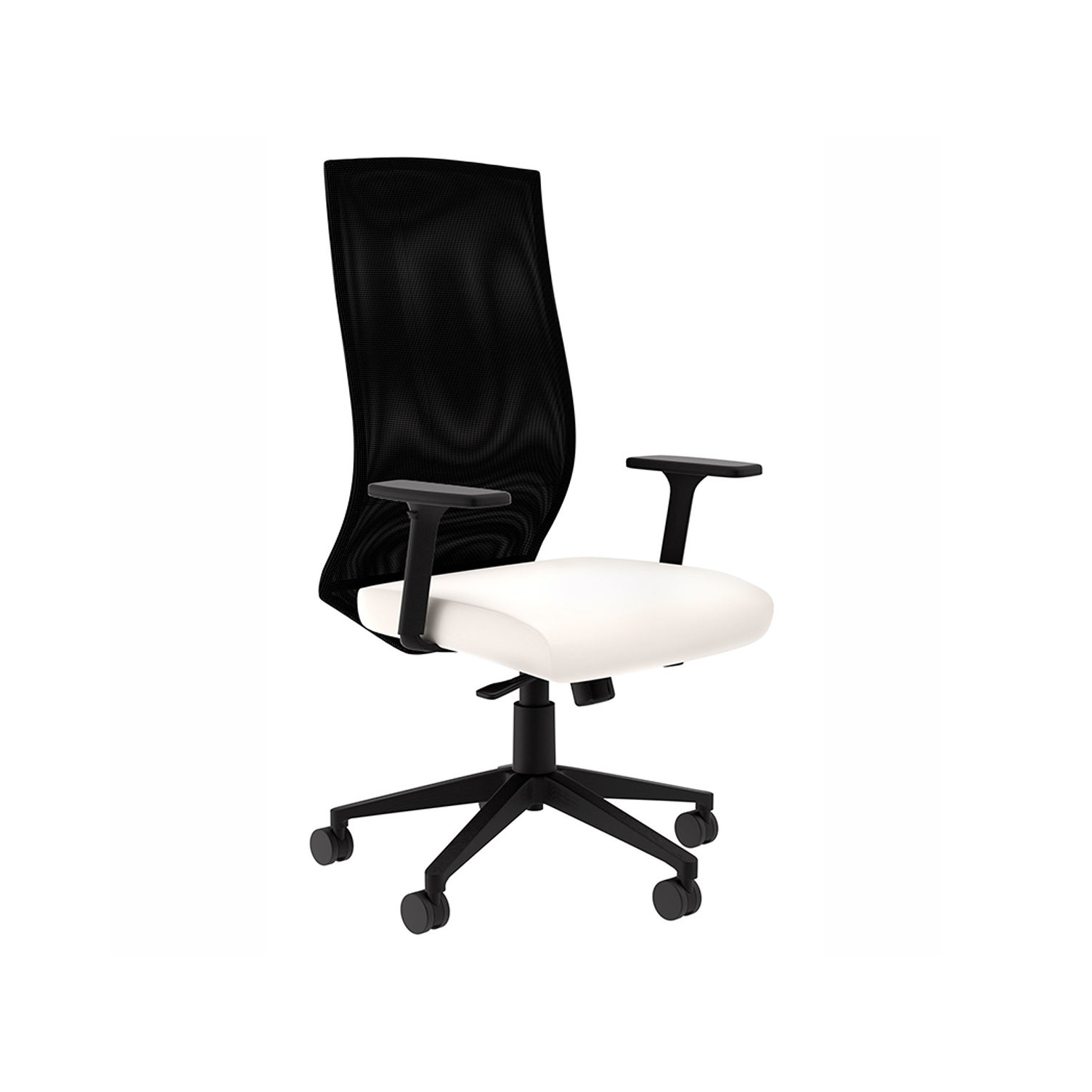 competitive price 84940 db401 Maxim MT White Leather Computer Chair