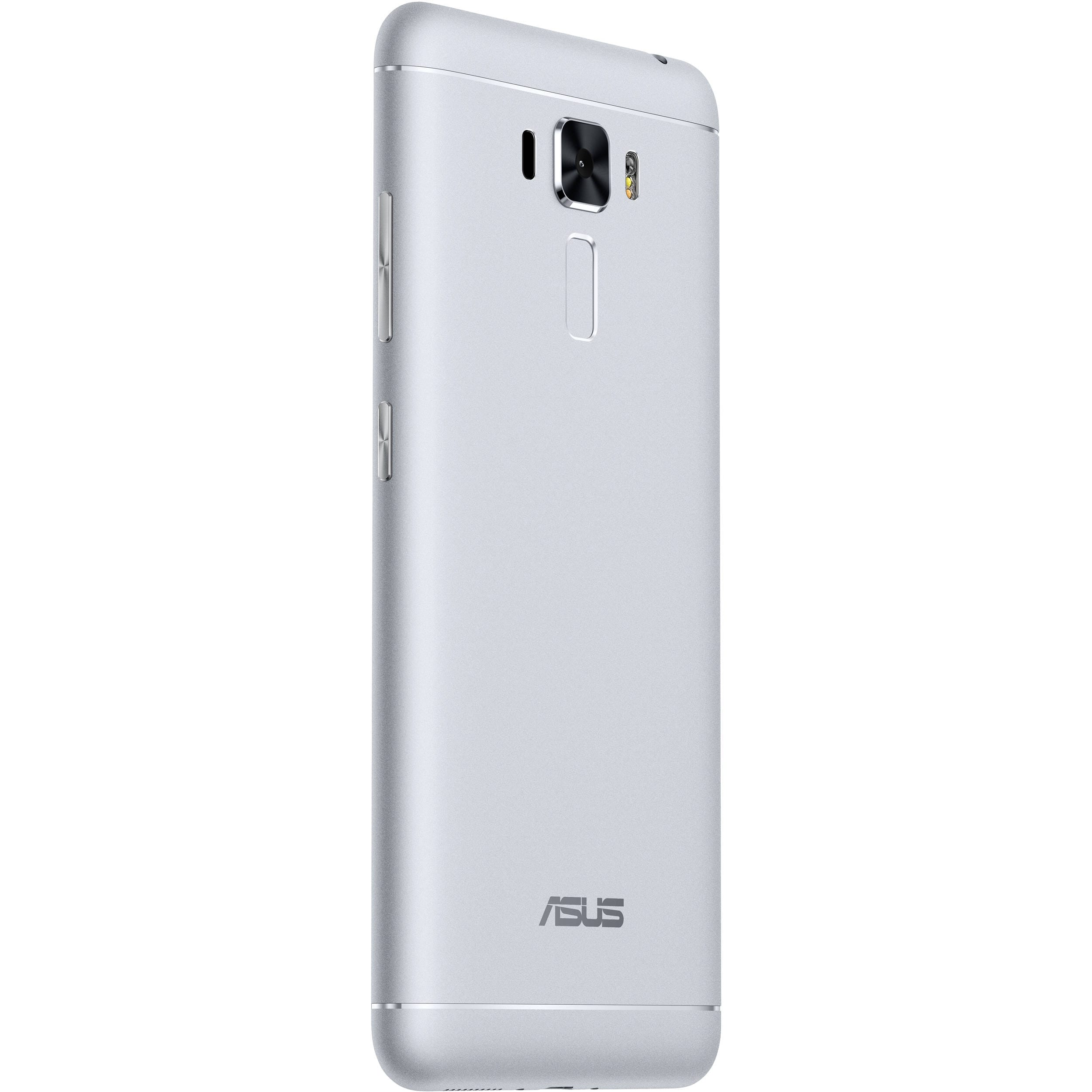 Shop Manufacturer Refurbished Asus Zenfone 3 Laser Zc551kl 32gb Smartphone 2gb Ram 55 Ips Android 60 Silver Free Shipping Today