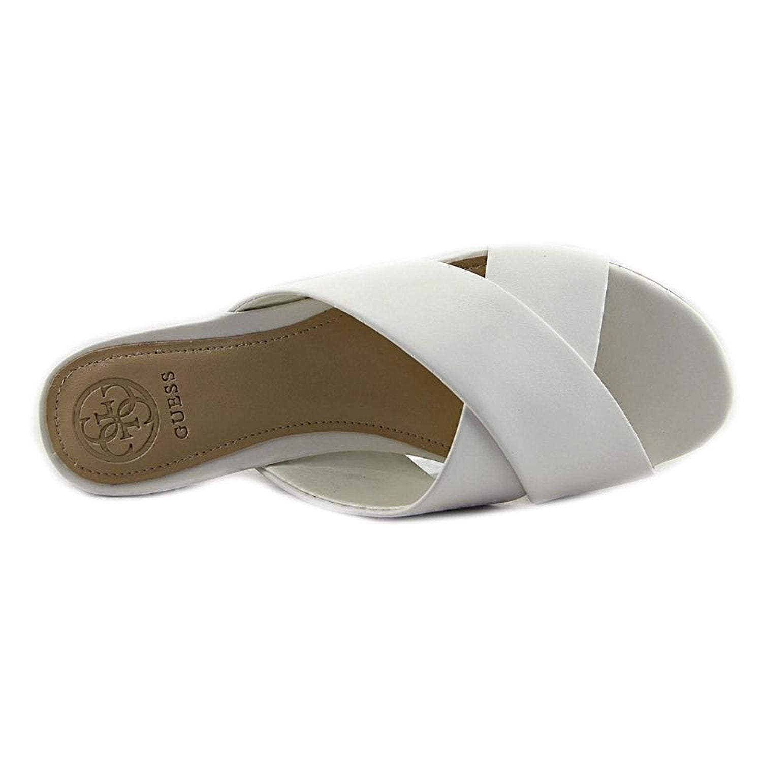 a4b1ee8249d Shop GUESS Womens Flashee3 Open Toe Casual Slide Sandals - Free Shipping On  Orders Over  45 - Overstock.com - 20263252