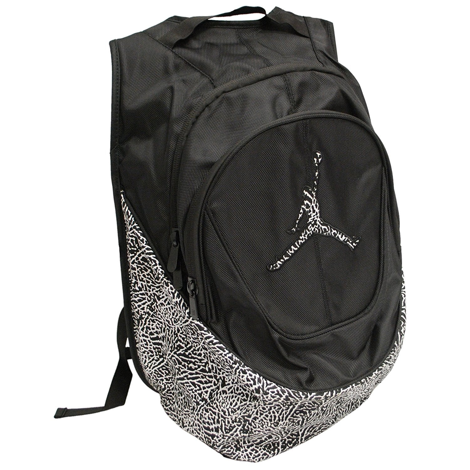 557d2965851ee0 Shop Nike Jordan Jumpman Elementary Elephant Print Students Large Backpack  with Laptop Sleeve 9A1414 - Free Shipping On Orders Over  45 - Overstock -  ...
