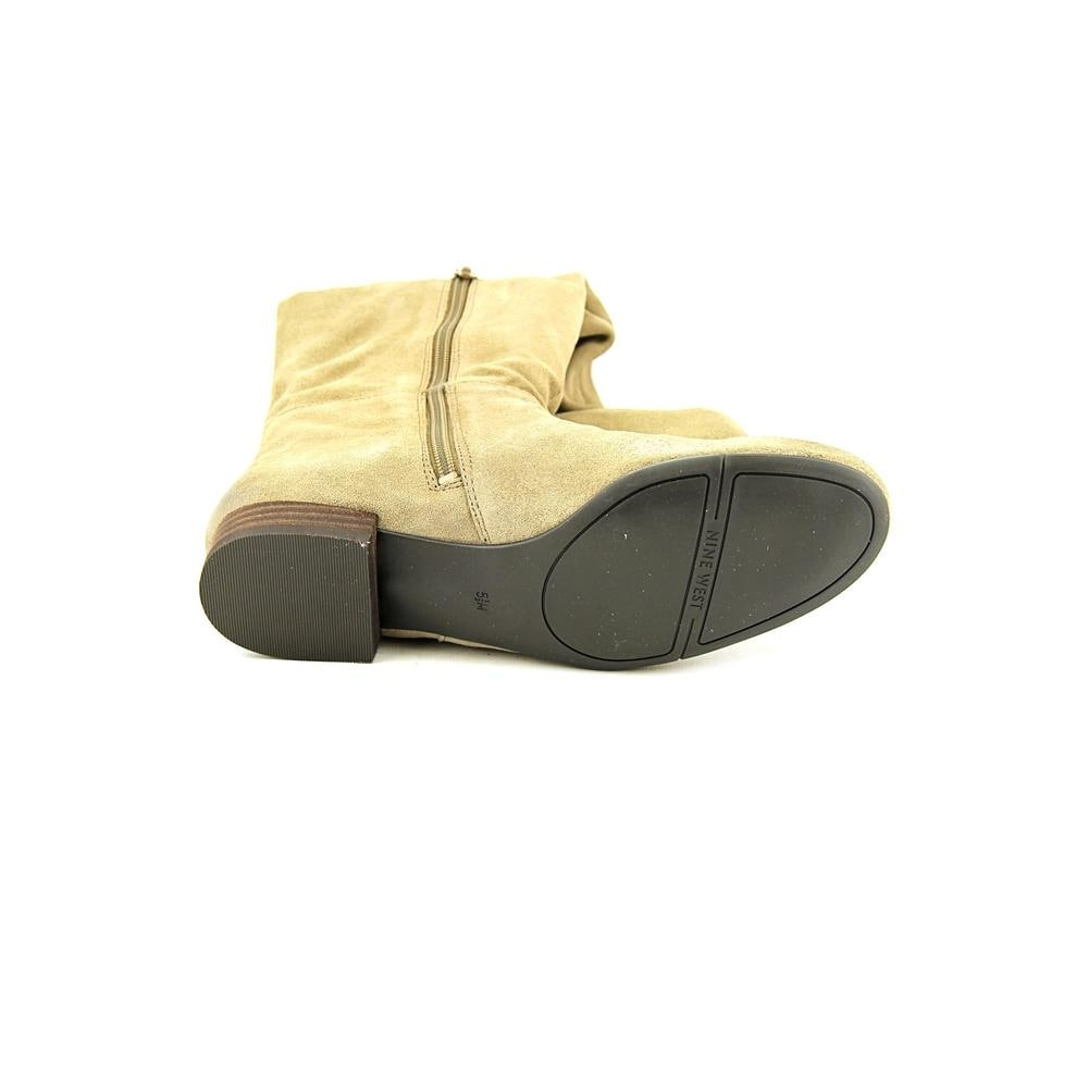 b58302947a0a0 Shop Nine West Pretaport Women Taupe Boots - Free Shipping On Orders Over   45 - Overstock.com - 17943817