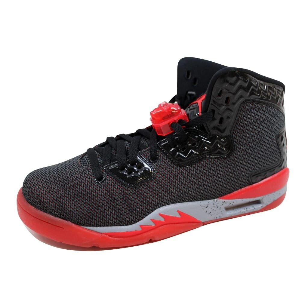 aa749e963b01 Nike Grade-School Air Jordan Spike Forty 40 Black Fire Red-Cement Grey  807542-002