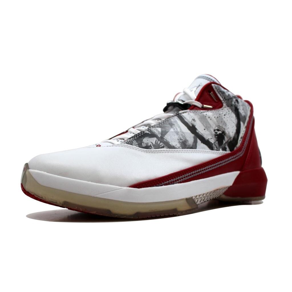 391adcc5da2 Shop Nike Men's Air Jordan XX2 22 White/Varsity Red-Black Omega 315299-162  - Free Shipping Today - Overstock - 19509837