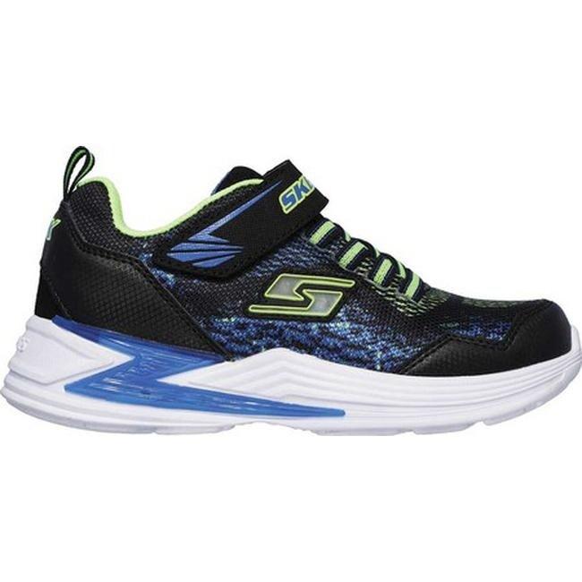 06b6a9cb0e6fd5 Shop Skechers Boys  S Lights Erupters III Derlo Sneaker Black Blue Lime -  On Sale - Free Shipping On Orders Over  45 - Overstock - 24322716