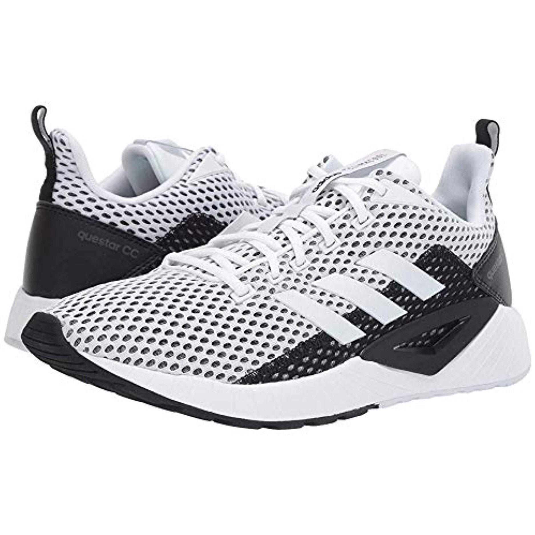 adidas Running Men's Questar Climacool Footwear WhiteFootwear WhiteCore Black 9 D US