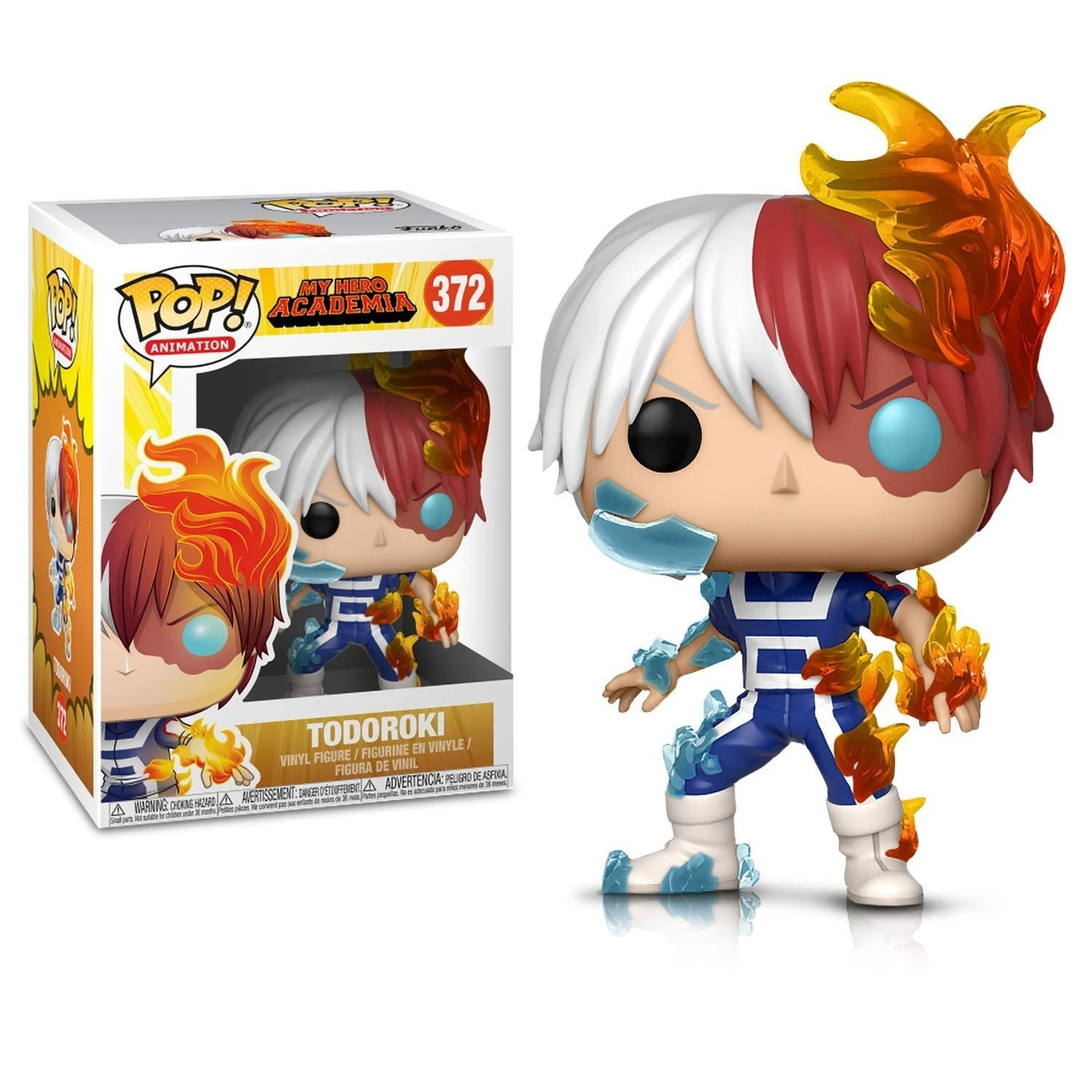 Funko POP Animation My Hero Academia -Todoroki and Deku (Training) - Vinyl  Figures (2 Items)