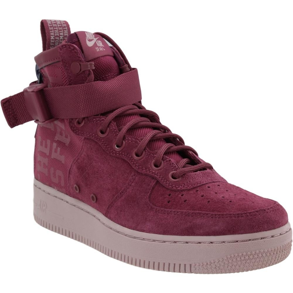 online retailer 63b50 c62b6 Nike Womens Sf Air Force 1 Mid Fif Casual Sneakers Shoes