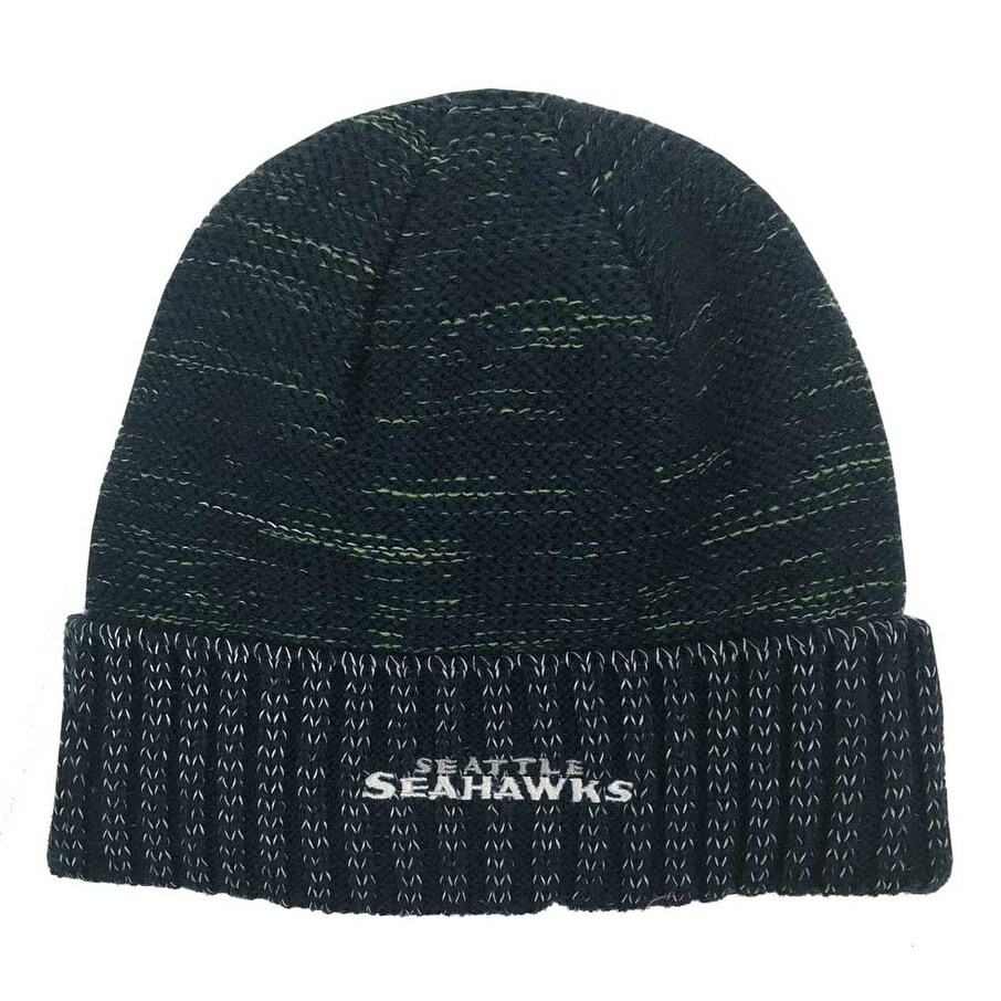 big sale 2ec4b d11a1 Shop New Era Seattle Seahawks Knit Beanie Cap Hat Official NFL 2017 Kickoff  11461122 - Free Shipping On Orders Over  45 - Overstock - 17743852