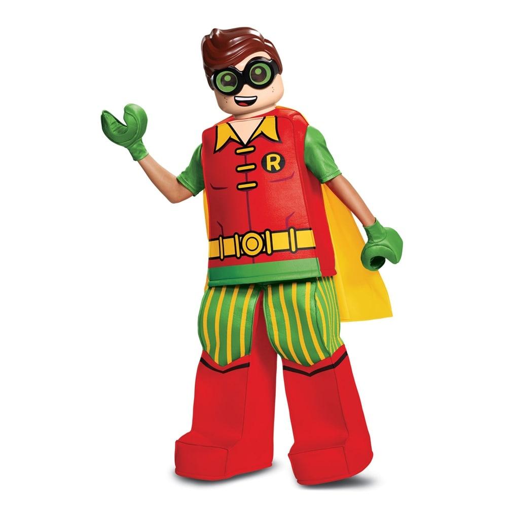 shop boys lego batman robin prestige halloween costume - free