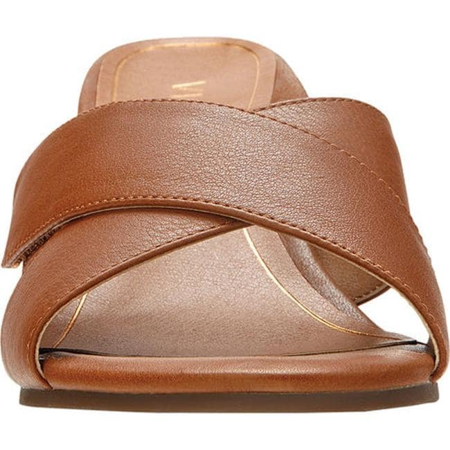 e4c760de7df5 Shop Vionic Women s Lorne Heeled Slide Saddle Leather - Free Shipping Today  - Overstock - 25598175