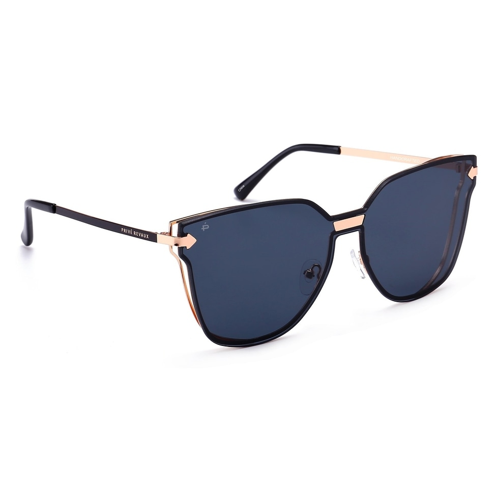 """e89cad00610 Shop PRIVÉ REVAUX """"The Madam"""" Handcrafted Designer Cat-Eye Sunglasses -  Free Shipping On Orders Over  45 - Overstock - 21682955"""