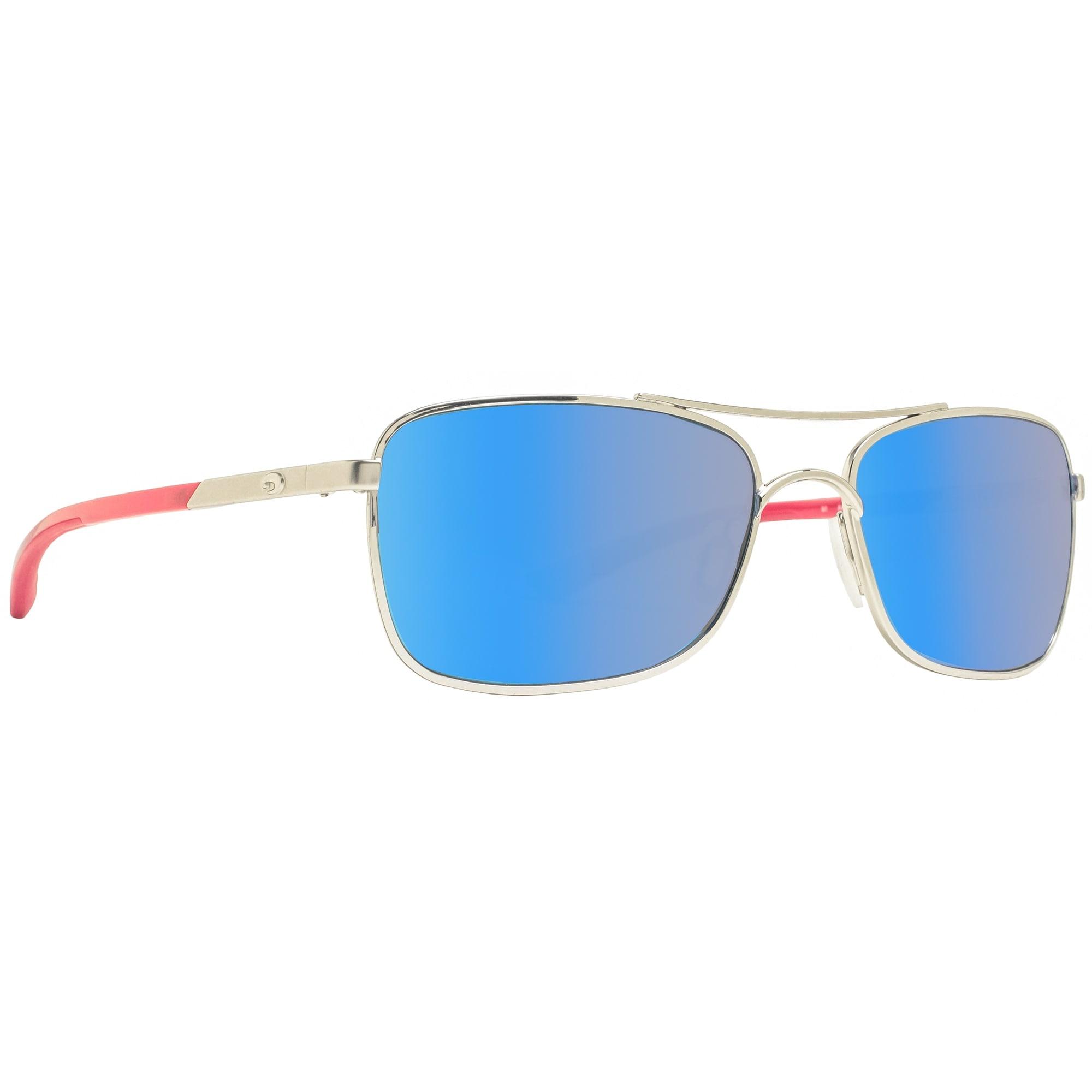 d2a635efbab Shop Costa Del Mar Palapa AP83 OBMGLP Palladium Blue Mirror Polarized 580G  Sunglasses - palladium red - 57mm-18mm-130mm - Free Shipping Today -  Overstock - ...