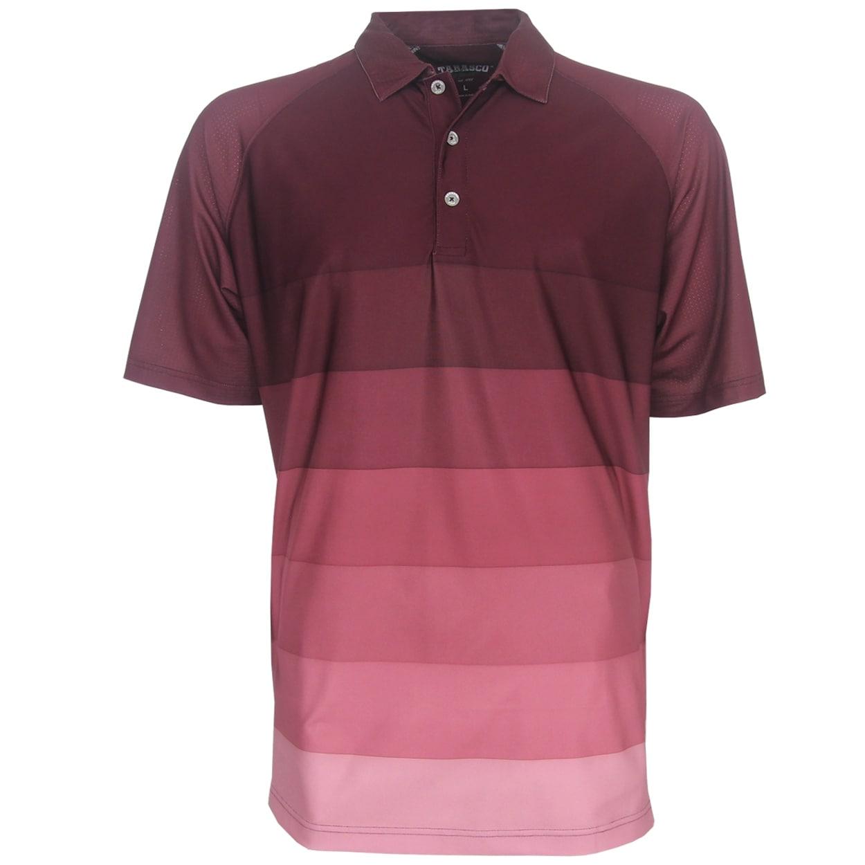 Shop Tabasco Ombre Stripe Raglan Polo Golf Shirt Brand New Free