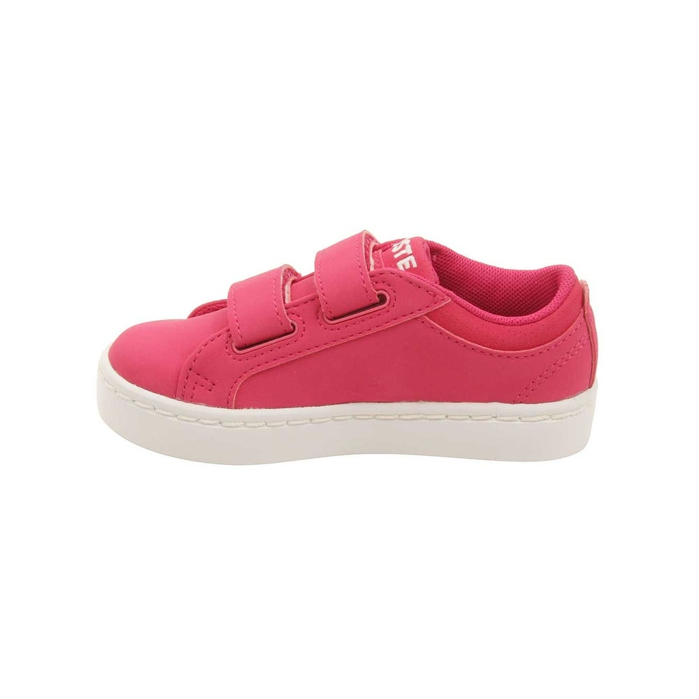 7005a14930df7 Shop Lacoste Infant Straightset Lace 316 Sneakers in Dark Pink - Free  Shipping Today - Overstock.com - 16420081
