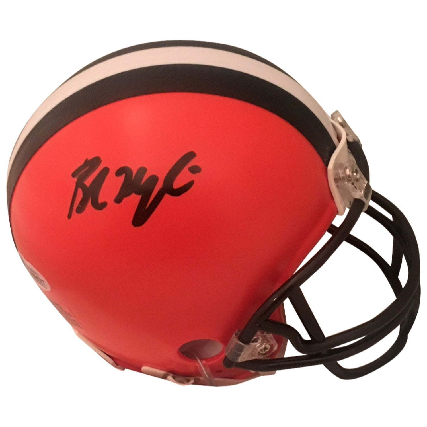 eca48f0d62f Shop Baker Mayfield Autographed Cleveland Browns Signed Football Mini  Helmet Beckett COA - Free Shipping Today - Overstock - 22390194