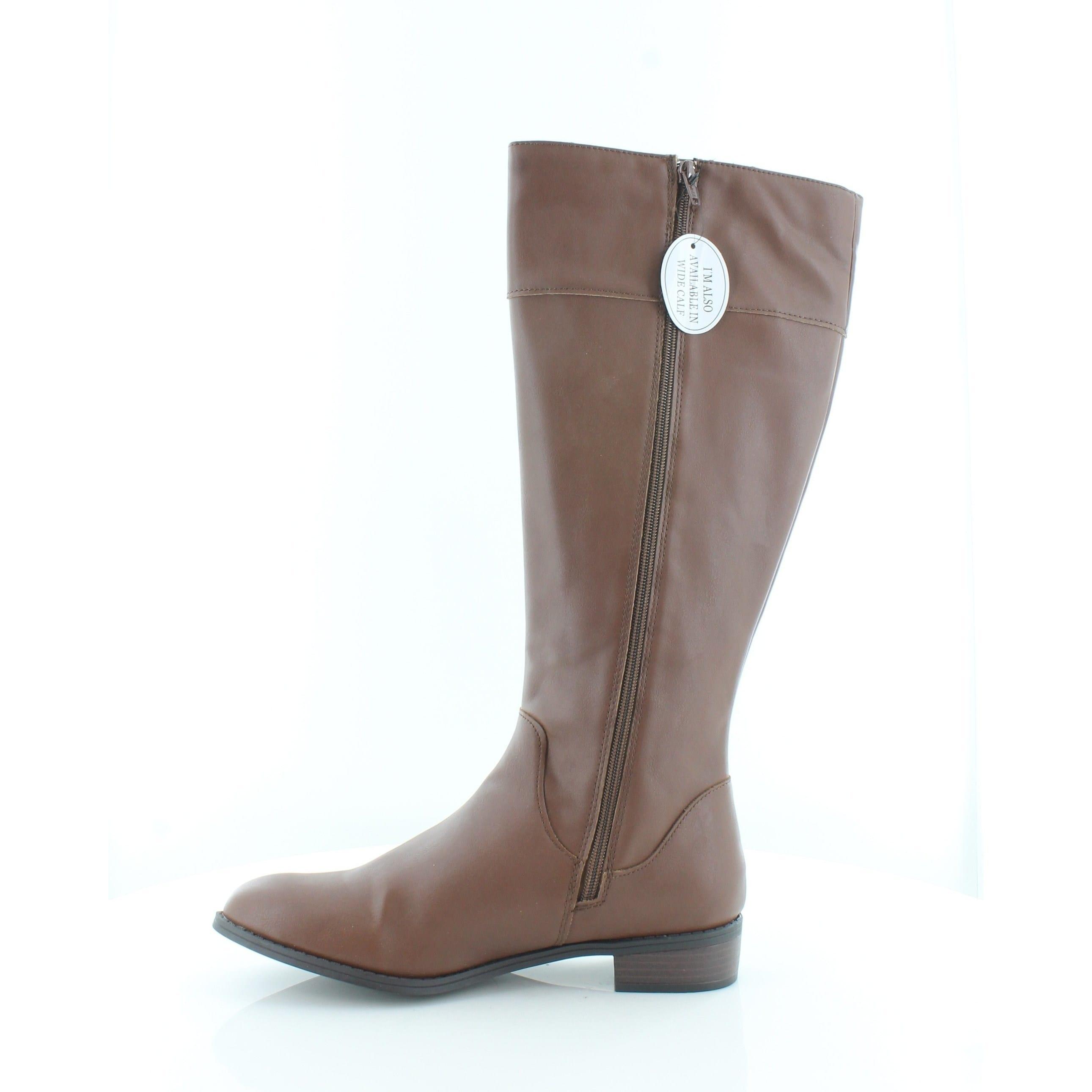 aa1846e0802 Karen Scott Womens Deliee Round Toe Knee High Riding Boots