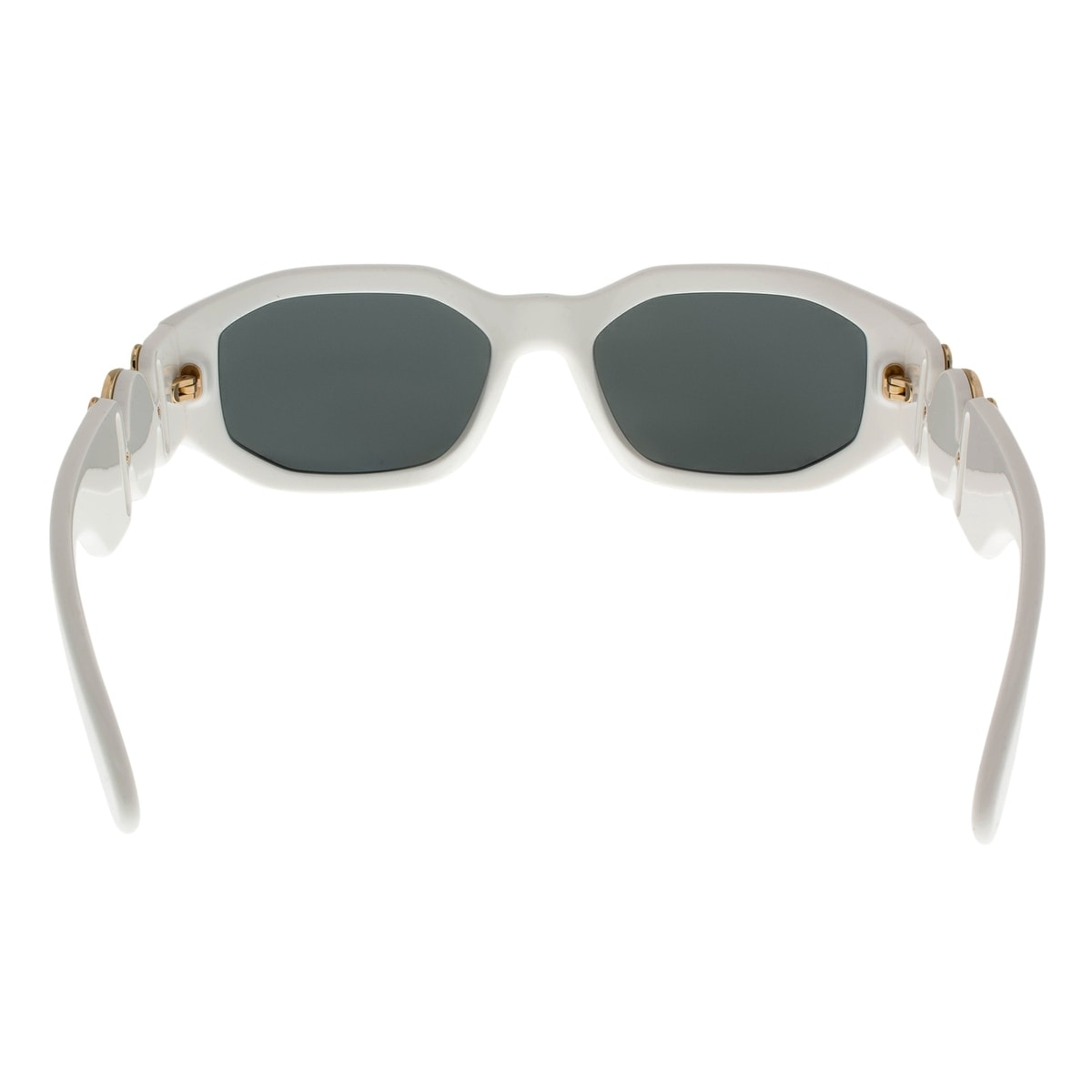 92c6538e079f Shop Versace VE4361 401/87 White Irregular Sunglasses - 53-18-140 - Free  Shipping Today - Overstock - 26951057