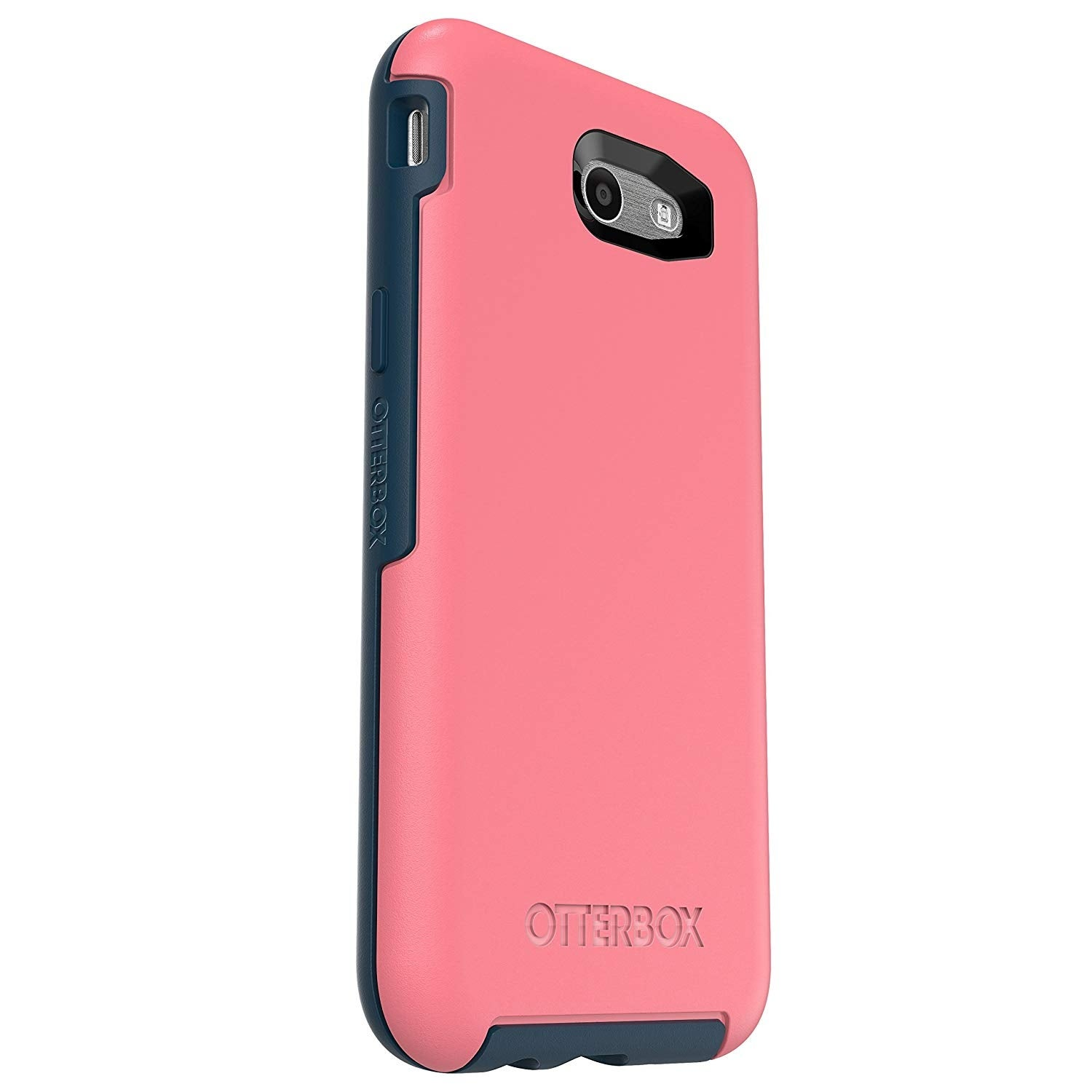 low priced ddbe7 5d90f OtterBox Symmetry Case for Samsung Galaxy J7 (2017) - Saltwater Taffy  (Pipeline Pink/ Blazer Blue)