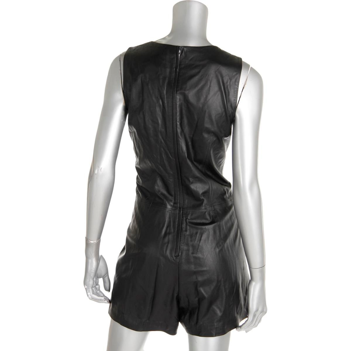 8a1d6a411ff Shop Polo Ralph Lauren Womens Romper Lamb Leather Lined - 6 - Free Shipping  Today - Overstock - 19760650