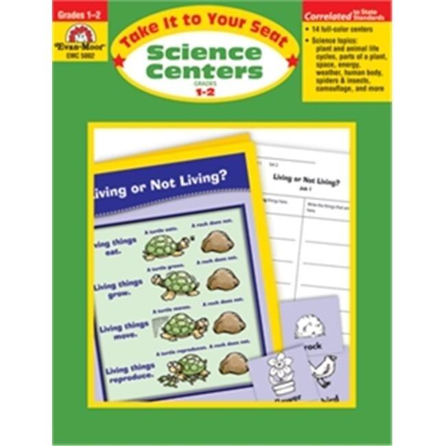 Evan-Moor Educational Publishers 5002 Science Centers - Grades 1-2