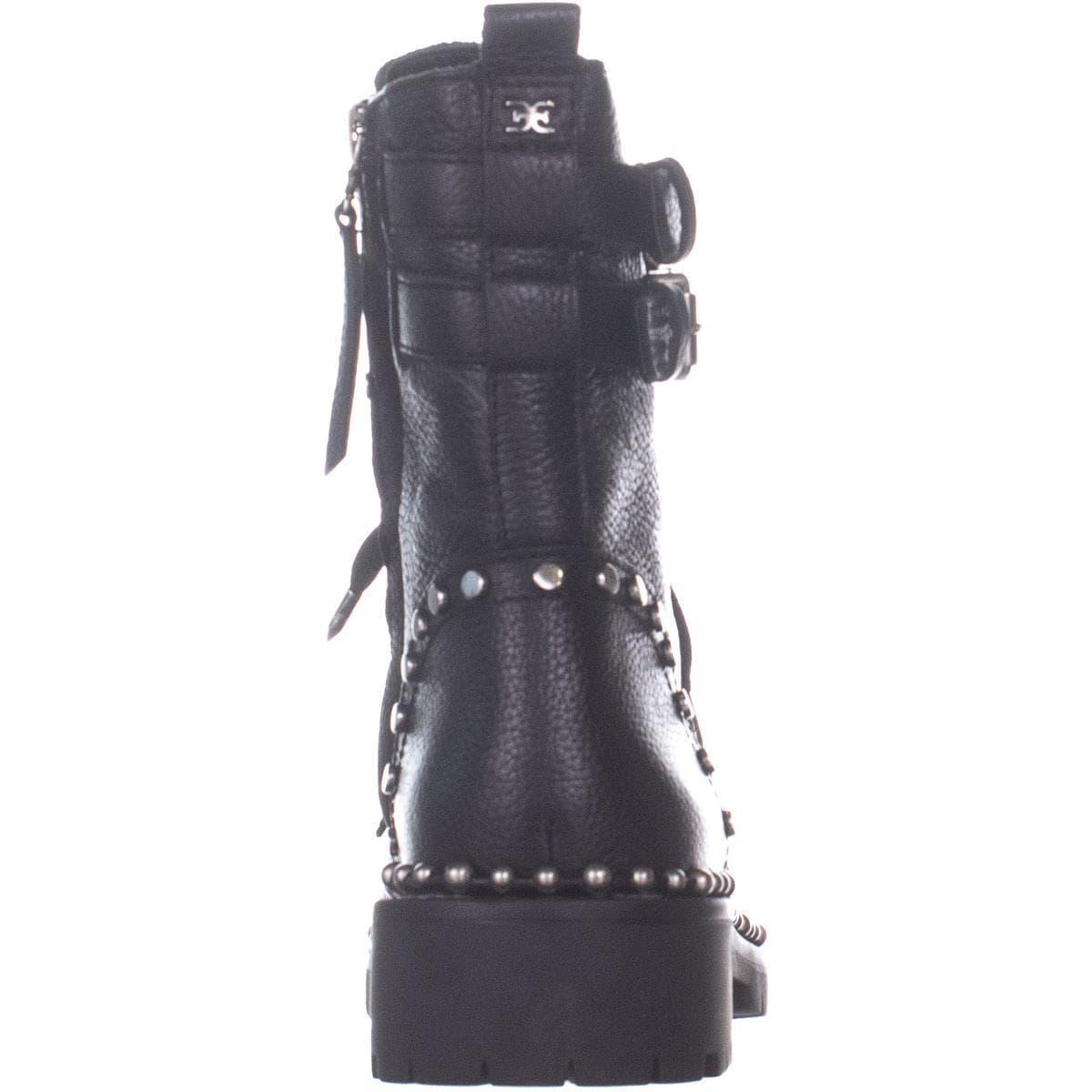 f96387669bdb4 Shop Sam Edelman Jennifer Studded Combat Boots