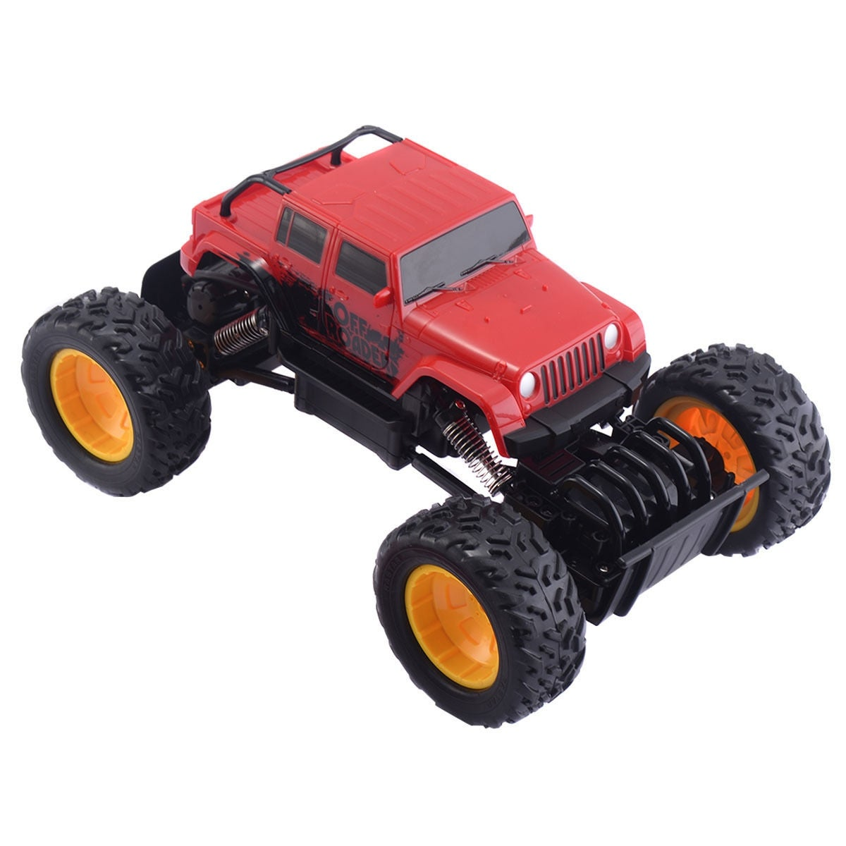 1ae17a641d Shop Costway Monster Truck Remote Control Off-Road Car 4 Wheel Drive - Red  - Free Shipping On Orders Over  45 - Overstock - 17202081