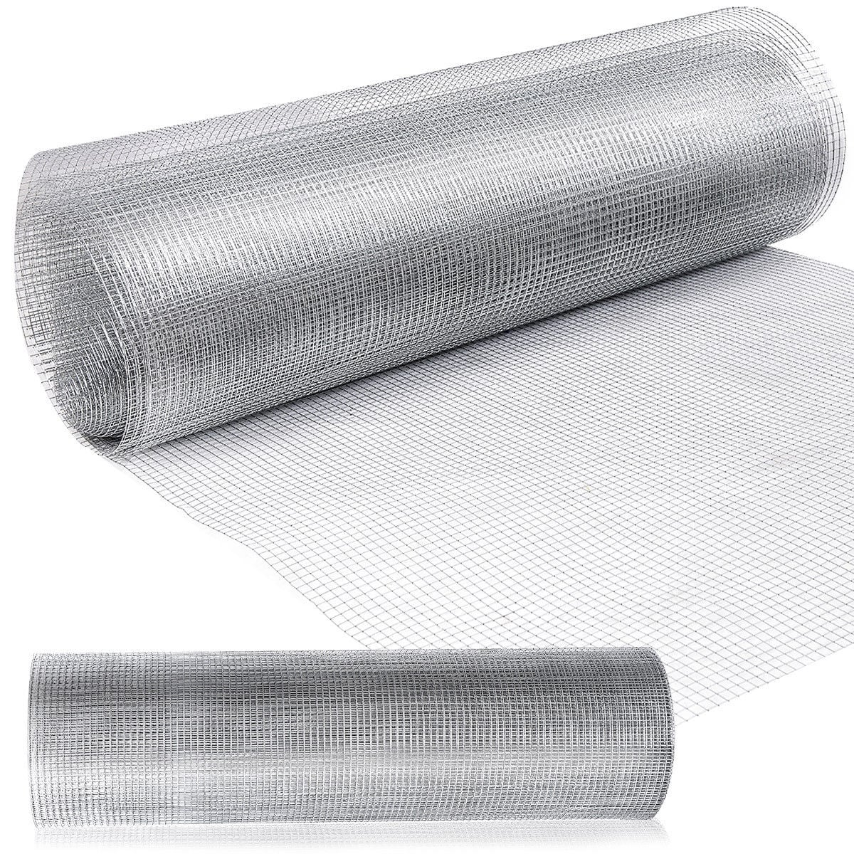 Shop Costway 48\'\' x 50\' 1/2inch Wire Fence Mesh Cage Roll Garden 19 ...