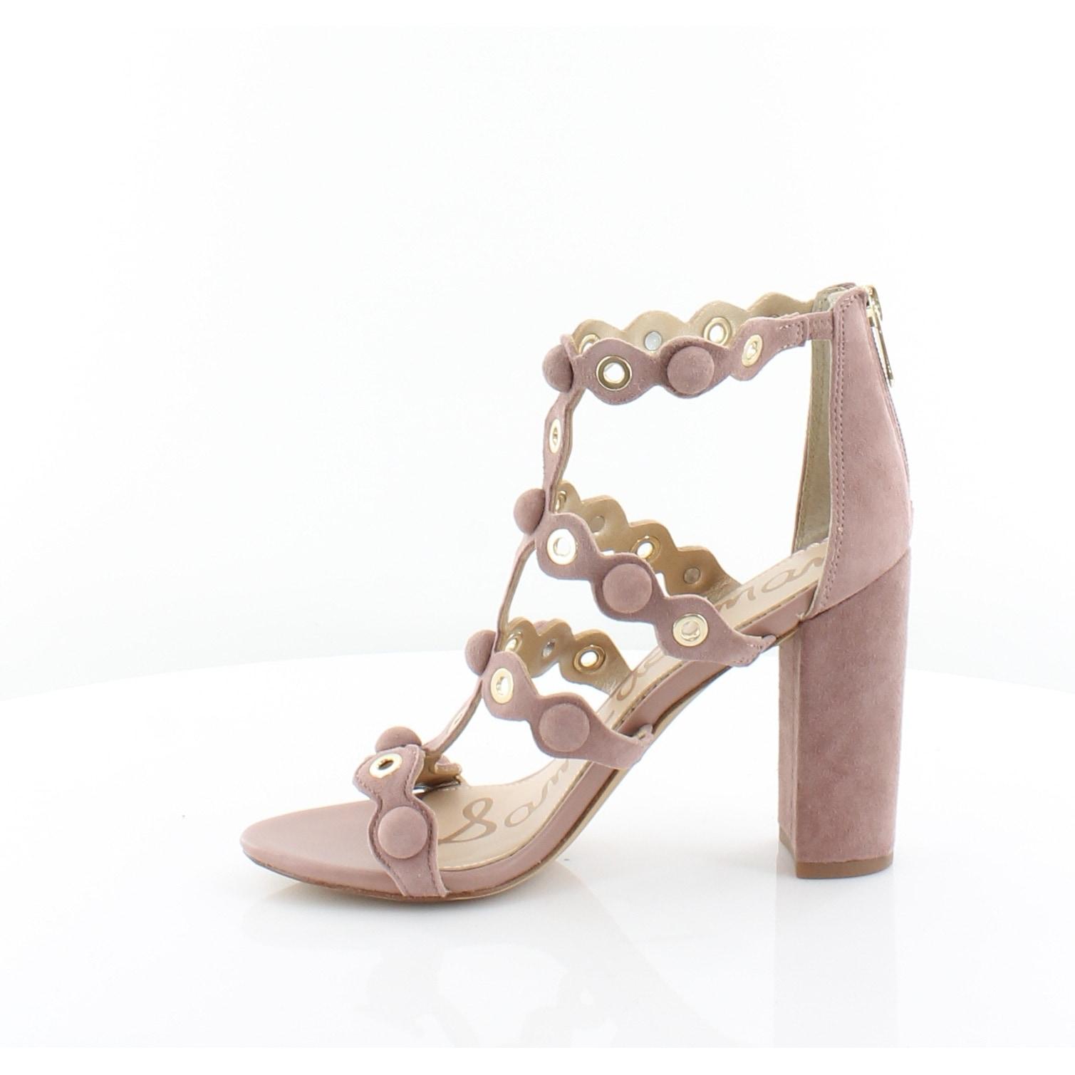 186b3a7c9393 Shop Sam Edelman Yuli Women s Heels Dusty Rose - 7 - Free Shipping Today -  Overstock - 25781981
