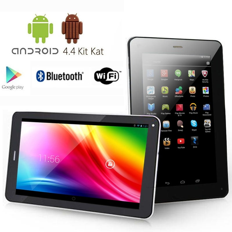 Indigi® 7.0inch Dual-Core 2-in-1 SmartPhone + TabletPC w/ Android 4.2 JellyBean Dual-Cameras WiFi Bluetooth - Black