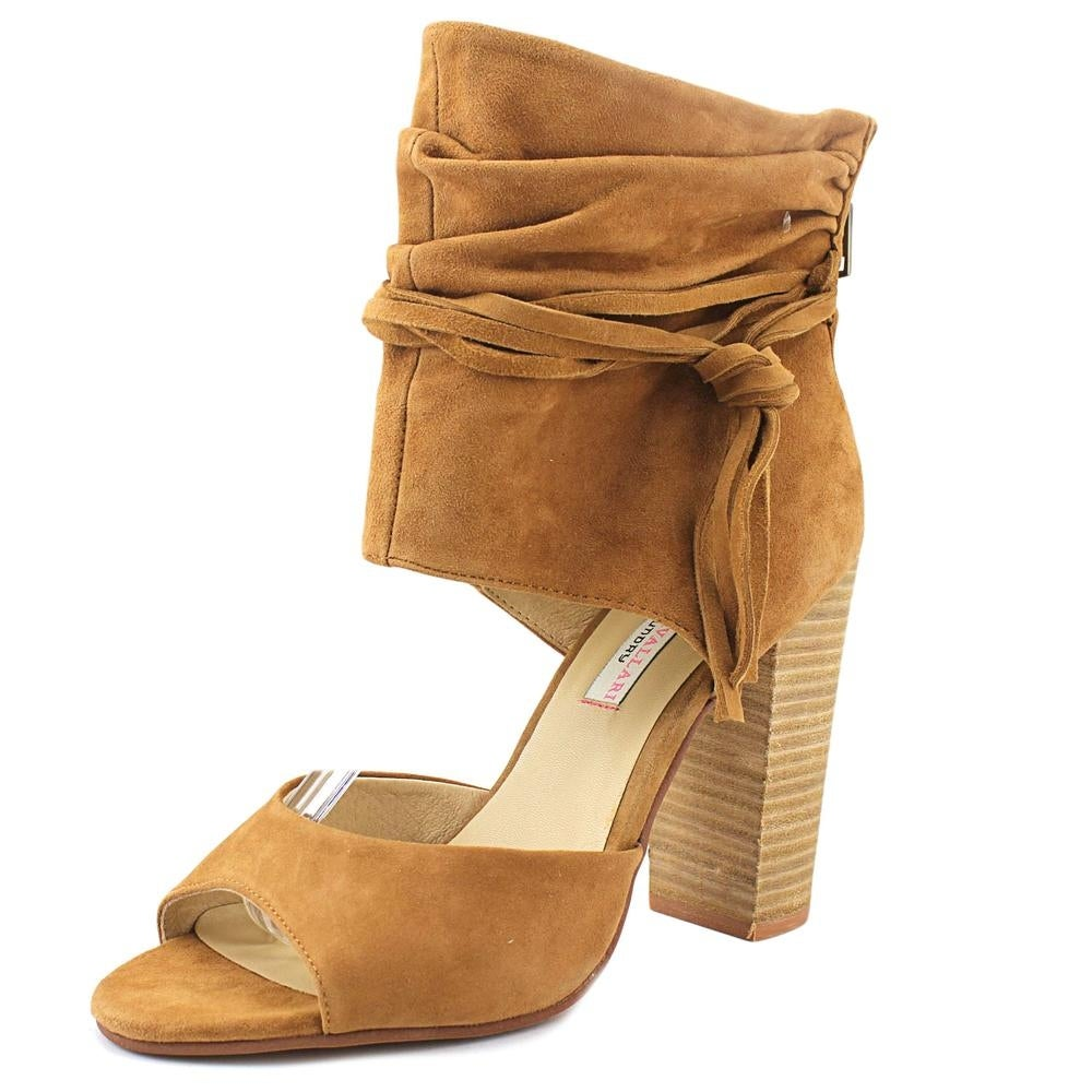 Shop Chinese Laundry Kristin Cavallari Leigh-2 Women Open Toe Suede Brown  Sandals - Free Shipping On Orders Over  45 - Overstock.com - 19268174 b22dab058