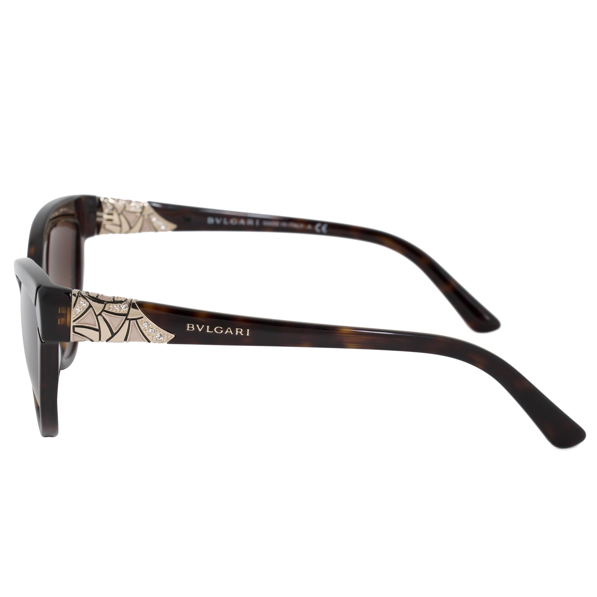 5109c7dbd5f Shop Bvlgari Butterfly Sunglasses BV8156B 50413 54 - Free Shipping Today -  Overstock.com - 21408823