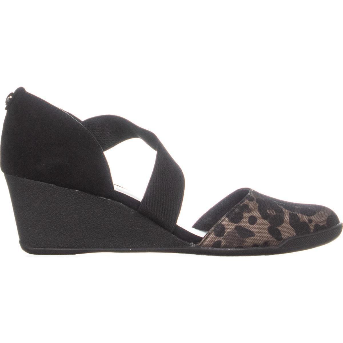 c72da52c39e Shop anne klein sport tara wedge sandals taupe black multi jpg 1200x1200 Anne  klein sport sandals