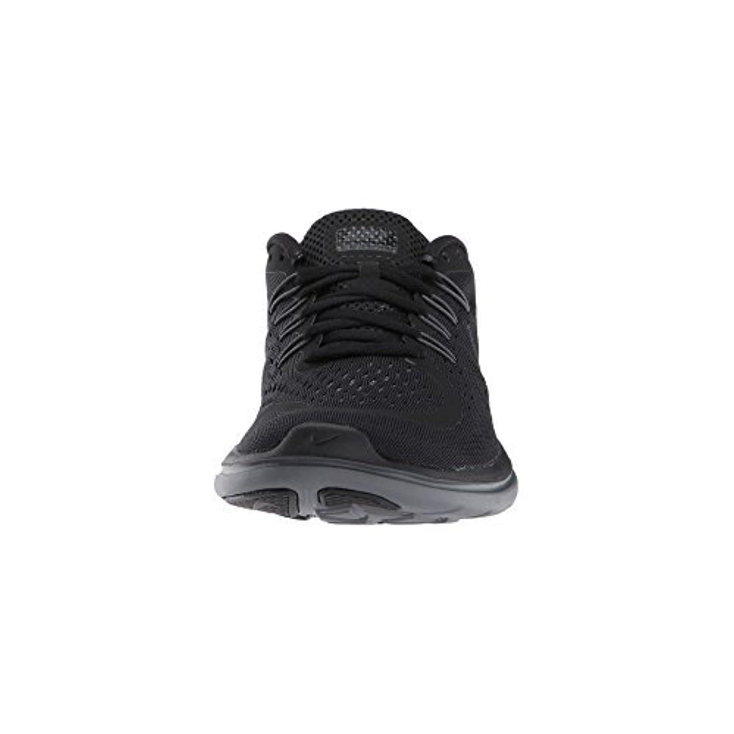 7bdc87d9af2d Shop Nike Flex RN 2017 Black Metallic Hematite Anthracite Dark Grey Women s  Running Shoes - Free Shipping Today - Overstock - 18280063