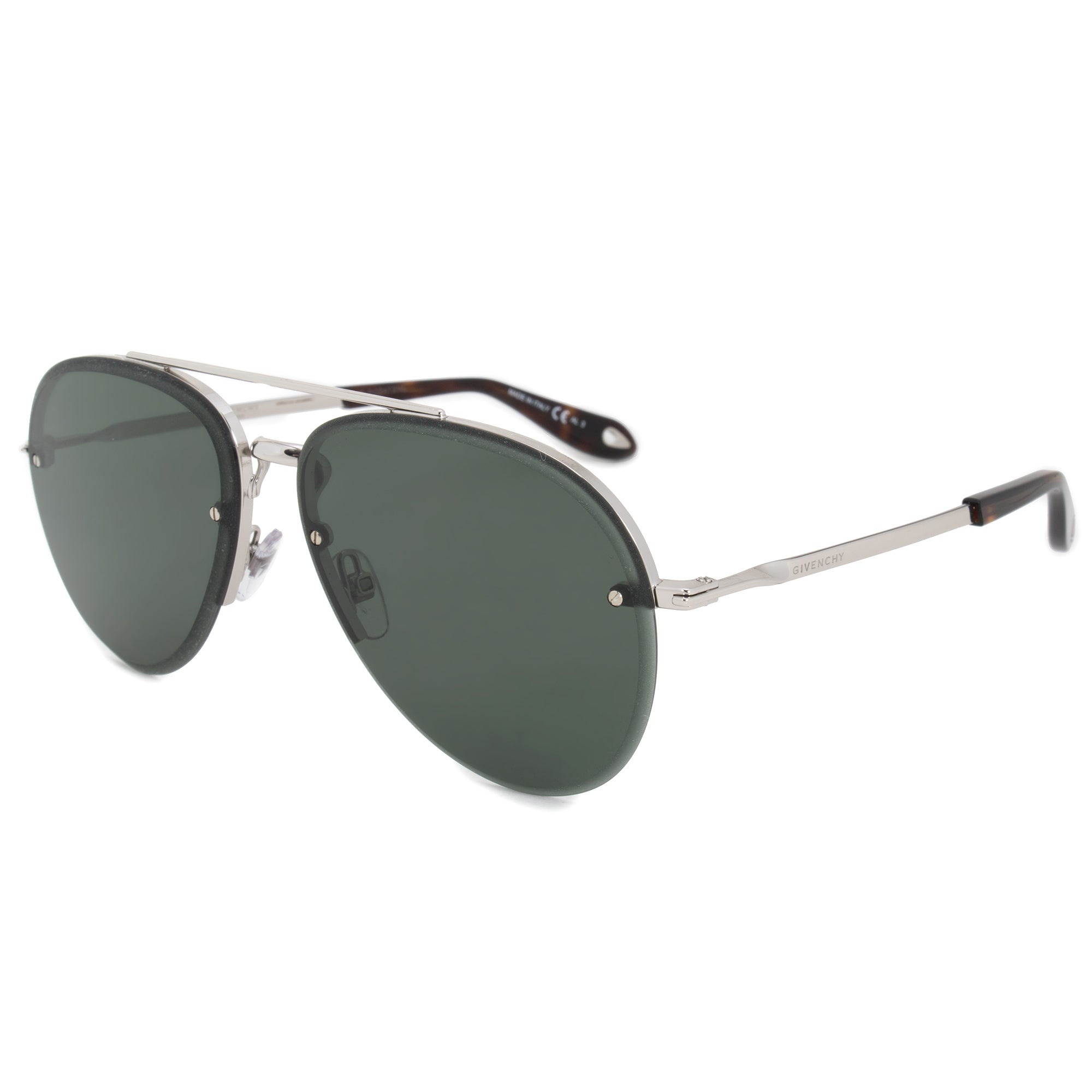 c9e46b58dd Shop Givenchy Aviator Sunglasses GV7075 S 010 QT 62 - Free Shipping Today -  Overstock.com - 21408866