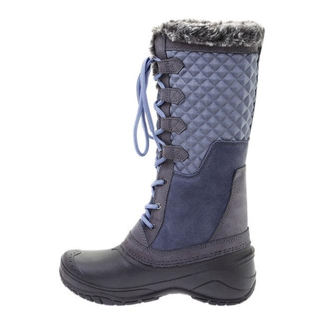 99516d886456 Shop The North Face Women s Shellista III Tall Boot Grisaille Grey Tempest  - Ships To Canada - Overstock - 24306626
