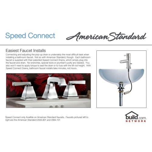 American Standard 7038 801 Tropic Widespread Bathroom Faucet With Speed Connect Technology Overstock 16319407