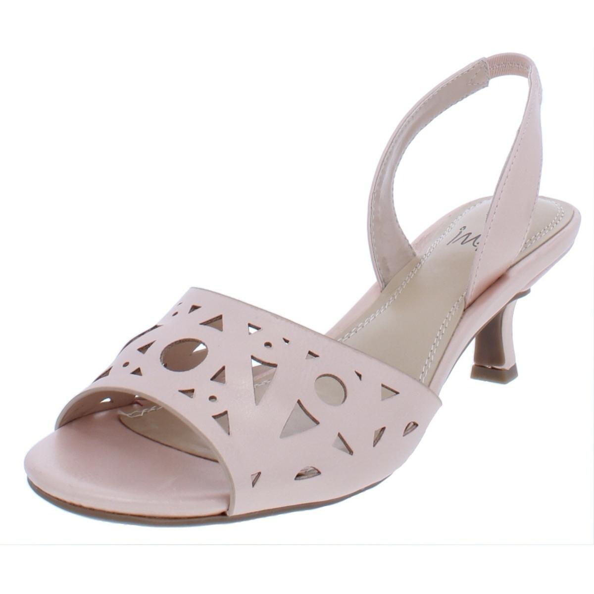 a90eaa8bd07 Shop Impo International Womens Eloi Slingback Sandals Faux Leather  Slingback - 6.5 Medium (B