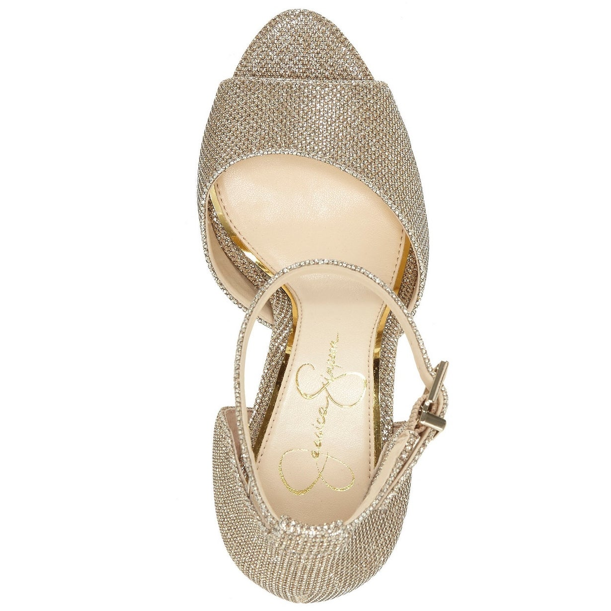 b60822cfe673 Shop Jessica Simpson Womens Beeya Leather Peep Toe Ankle Strap D-orsay  Pumps - Free Shipping Today - Overstock - 27470095