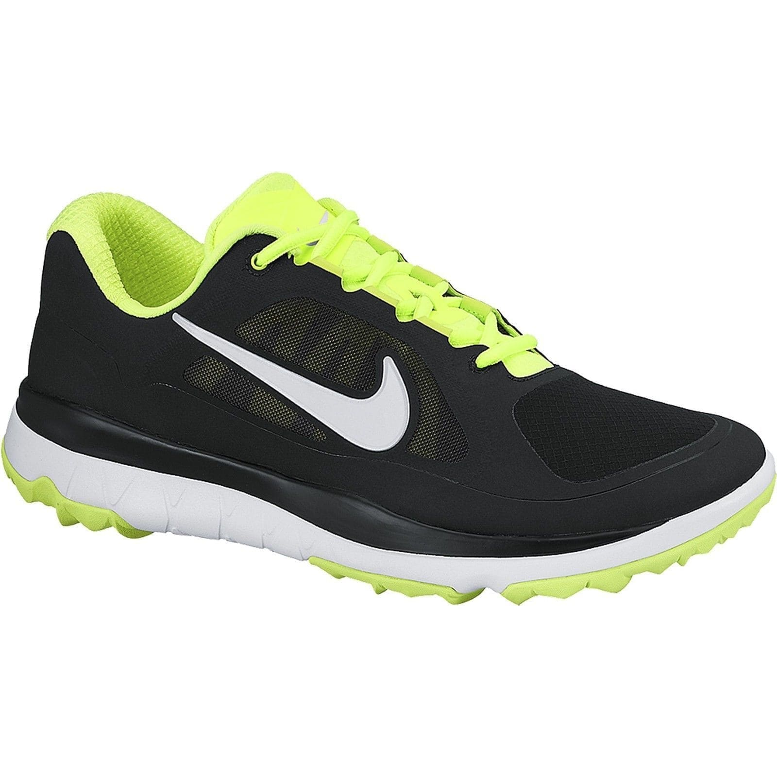 outlet store sale 58d99 a004d Shop Nike Men s FI Impact Black Volt White Golf Shoes 611510-007 - Free  Shipping Today - Overstock - 19748354